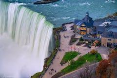 Bird View of Niagara Falls Stock Photography