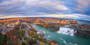 Bird View of Niagara Falls Royalty Free Stock Photo