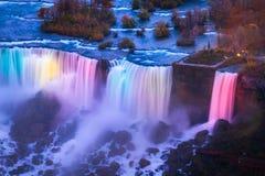 Bird View of Niagara Falls Royalty Free Stock Images
