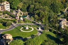 Vatican Gardens, Rome Royalty Free Stock Photo