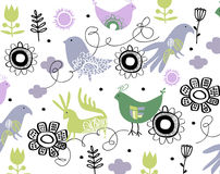 Bird wallpaper Stock Image