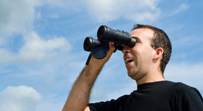Bird Watcher Royalty Free Stock Photography