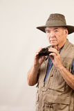 Bird watcher Stock Photography