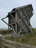 Bird Watching Tower, Heilegenhafen Royalty Free Stock Image