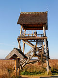 Bird watching tower. Royalty Free Stock Photos