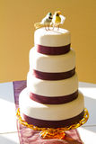 Bird Wedding Cake Stock Photo