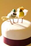 Bird Wedding Cake Royalty Free Stock Photo