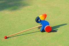 Bird wood toy Royalty Free Stock Photography