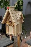 Bird wooden house Royalty Free Stock Photo