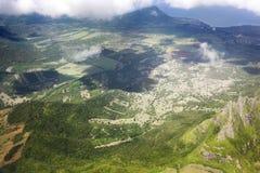Bird& x27; s oka widok Mauritius Zdjęcie Stock