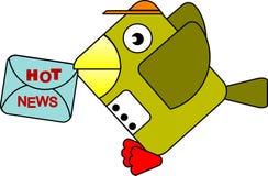 Bird_postman Stock Image