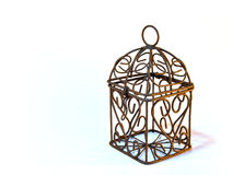 Birdcage. A small classical birdcage Royalty Free Stock Image