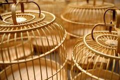 Birdcage. The Chinese bird cage in sunshine Royalty Free Stock Photo