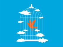 birdcage stock illustratie
