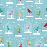 Birdcagemuster lizenzfreie abbildung