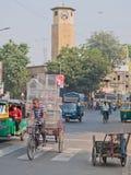 Birdcages in beweging in Ahmedabad Royalty-vrije Stock Fotografie