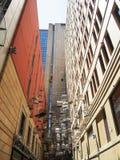 Birdcages Street Art Downtown Sydney Australia Stock Photo
