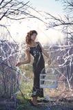 Birder místico Fotografía de archivo