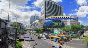 Birdeye view, panorama view of Bangkok Royalty Free Stock Photo