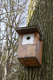 Birdhaus Royalty Free Stock Photography