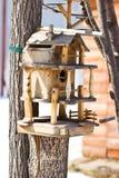 Birdhouse για τα πουλιά Στοκ Εικόνες