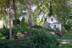 Birdhouse και θέατρο Στοκ Εικόνες