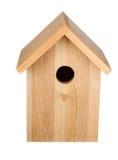 Birdhouse που απομονώνεται ο τρισδιάστατος τυπώνοντας επαγγελματίας καταγραφέων ψηφιακού εξοπλισμού μετωπικός δίνει την όψη στοκ φωτογραφία με δικαίωμα ελεύθερης χρήσης