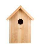 Birdhouse που απομονώνεται ο τρισδιάστατος τυπώνοντας επαγγελματίας καταγραφέων ψηφιακού εξοπλισμού μετωπικός δίνει την όψη στοκ φωτογραφίες με δικαίωμα ελεύθερης χρήσης