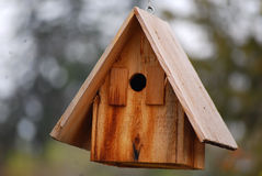 Birdhouse. Image of an old,rustic birdhouse royalty free stock image