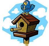 Birdhouse Illustrazione di Stock