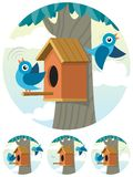 Birdhouse Photo libre de droits