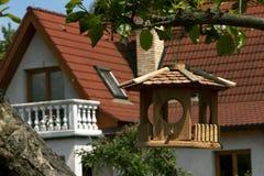 birdhouse Arkivbild