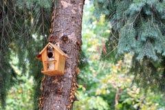 Birdhouse Royaltyfri Foto