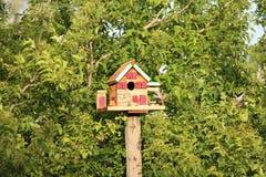 birdhouse Royalty-vrije Stock Foto's