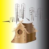 birdhouse Fotografia de Stock