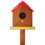 Birdhouse ilustración del vector