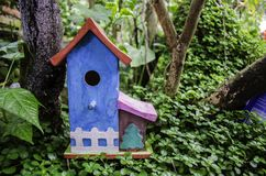 birdhouse Fotografia de Stock Royalty Free