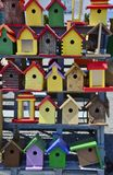 Birdhouse bonanza Royalty Free Stock Images