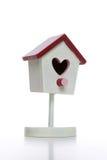 Birdhouse d'amour de Valentines Photographie stock