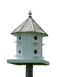 Birdhouse d'isolement Photos stock