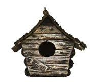 Birdhouse de madera fotos de archivo