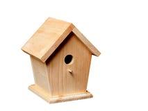 Birdhouse de pin Photographie stock libre de droits