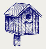 Birdhouse del nido Royalty Illustrazione gratis