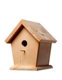 Birdhouse del pino fotos de archivo