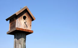 Birdhouse di Wodden Fotografie Stock Libere da Diritti
