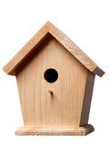 Birdhouse do pinho Imagem de Stock