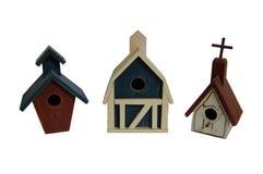 Birdhouse-Dorf Lizenzfreies Stockbild
