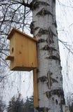 Birdhouse für Vögel lizenzfreie stockfotos