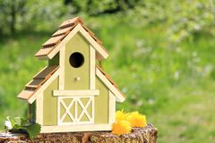 Birdhouse Royalty Free Stock Image