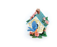 Birdhouse figurine Stock Photos